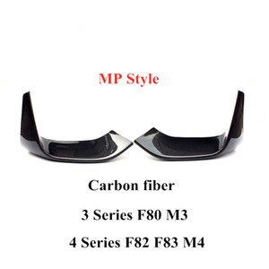 MP AC Style Real Carbon fiber Car wrap angle For 3 4 Series F80 M3 F82 F83 M4 2014-2018 Car accessories Bumper