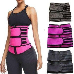 H9Ete Sıcak satış Hot zayıflama karın kemeri zayıflama çift kuşak doğum sonrası güçlü plastik giyim yoga spor bel koruma takviyeli