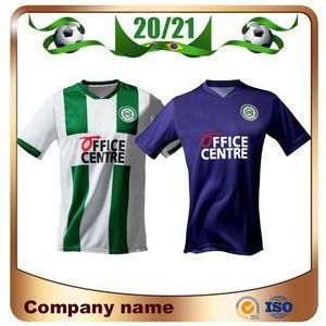 Yeni 20/21 FC Groningen Futbol forması 2020 Ev 10. ROBBEN futbol atletler Deyovaisio Zeefuik Daishawn Redan Futbol Üniformalar