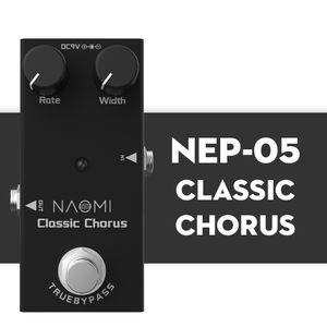 NAOMI Electric Guitar Effect Pedal Classic Chorus True Bypass Design Aluminum Alloy Material