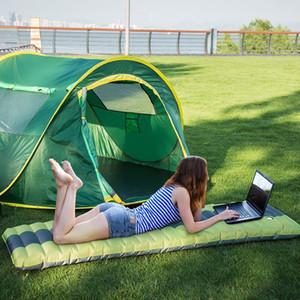 Selbst Inflating Camping Airbed Schlafenauflage Außen Mats Moistureproof Aufblasbare Luftmatratze Pool Schwimm Pad