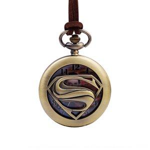 New creative fashion personalized pocket watch Captain America Super Return Superman student pocket watch