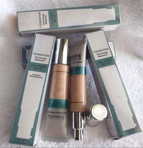 Maquiagem marca de cosméticos Bye face Foundation Primer cobertura completa Hidratante 2shades Oil Free Matte Hidratante 30ml frete grátis