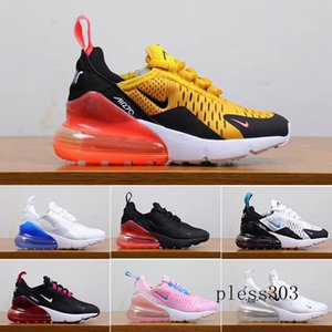 2019 Kids Athletic Shoes Children 27c Basketball Shoes Wolf Grey 27c Toddler Sport Sneakers for Boy Girl Toddler Chaussures Pour Enfant DRT9