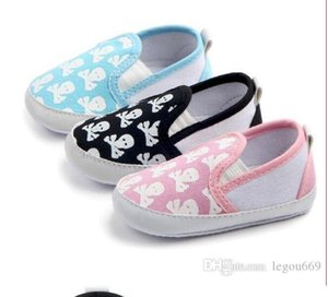 Skull-printed baby shoes, infant toddlers Baby toddler shoes WL117