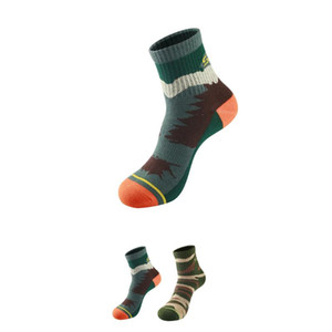 SANTO S007 Men Outdoor Leisure Climbing Hiking Thin Quick Dry Socks Perspiration breathable Travel Socks