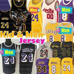 NCAA 8 24 33 Lower Merion BRYANT garoto Basketball Jersey 00 Carmelo Anthony Black Mamba LeBron James 23 Faculdade Homens Juventude Jerseys KB