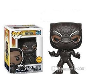 NEW New wholesales Funko POP Black Panther Vinyl Action Figure with Box #620 Collectible Toy Popular Gift Good Quality