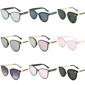 Diseñador de marcas de lujo sin montura gafas de sol para los hombres 2020 Moda de bambú de madera retro cuerno de búfalo Marrón Negro Claro lente de cristal Sunglas # 311
