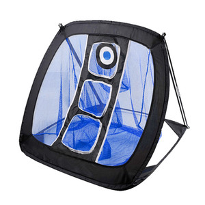 Square Pop Up Golf Chipping Net, Indoor Outdoor Golfing Target Net for Accuracy and Swing Practice, Portable with Bag, Golfer Training Net