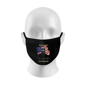 Drop Shipping American Eagle White House Statue Of Liberty Designer Letter Adult Face Mask Washable Reusable Dust Windproof Cotton Masks #38