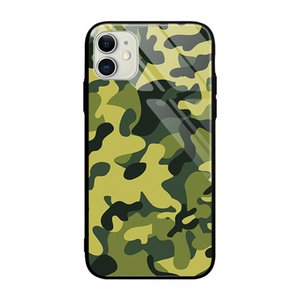 Army Coque For iPhone11 Pro Max phone Case tempered glass Case Cover for iPhone XR X 7 8 Plus XS
