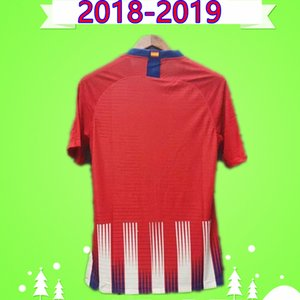 player version 18 19 Soccer Jerseys Vintage 2018 2019 Retro Football Shirts home red white thai quality