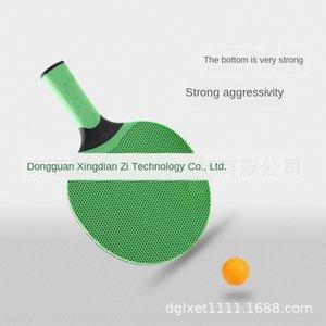 경쟁은 실리콘 실리콘 탁구 라켓 학생들에게 정규 교육 긴 손잡이 탁구 라켓을 사용