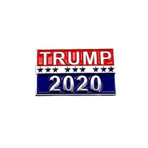 neue 2020 TRUMP Badge Coupon Stern Eintrittskarten Coole Poker Brosche-Mantel-Jacken-Rucksack-Revers-Abzeichen Pins Film Teil zugunsten T2C5051-1