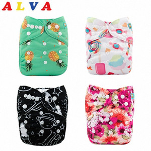(50pcs per Lot) Alvababy Reusable Baby Cloth Diaper Washable Cloth Nappy with 50pcs Microfiber Inserts Free Shipping Qdgo#