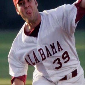 40 جيمي نيلسون 16 أليكس أفيلا NCAA الاباما قرمزي المد COLLEGE البيسبول 2020 رجل مخيط الشباب جيرسي 1 ميكي الأبيض 9 كودي هنري