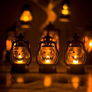 Cadılar Bayramı Kabak Rüzgar Lambası Halloween Party Işık Yukarı Kabak Fener Rüzgar Işık Ev Bar Okulu Cadılar Bayramı Süslemeleri