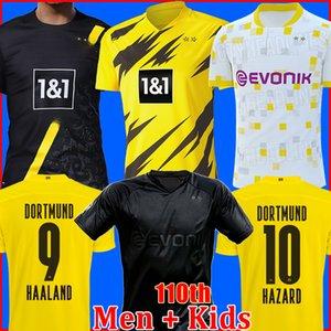 HAALAND 9 TEHLİKESİ 10 Borussia 20 21 dortmund futbol forması EMRE CAN 23 2020 2021 futbol forması 110 SANCHO REUS Hummels erkekler + çocuk kiti