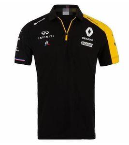 F1 yarış takım elbise Renault kısa kollu tişört polyester çabuk kuruyan motokros off-road teslimiyet Formülü aynı gelenek Tek Infiniti