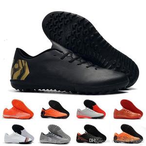2019 nueva llegada para hombre Tacos de fútbol Mercurial Superfly FG V Ronalro interior zapatos de fútbol Botas de fútbol Neymar Cr7 39-45 Botas Eur