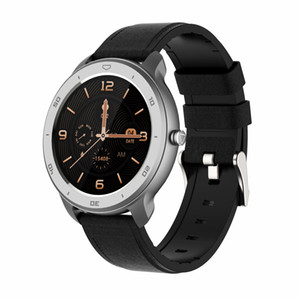 RC02 Intelligent Watch 1.3in Color Screen Circle Dial Sport Fitness Tracker IP68 Waterproof Heart Rate Monitoring Watch