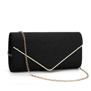 Dinner party bag acrylic envelope bags Banquet evening gift holding chains shoulder bag handbags
