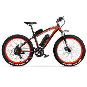 Free Shipping 1000W Motor Fat Tire Electric Bike with 48V 16AH Panasonic Lithium Battery