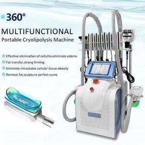 Schnelle Cellulite-Reduktion Cryolipolysis Zeltiq Schlankheits-Maschine für Weight Loss 7 IN 1 Cryolipolysis Kavitation RF Laser Lipo