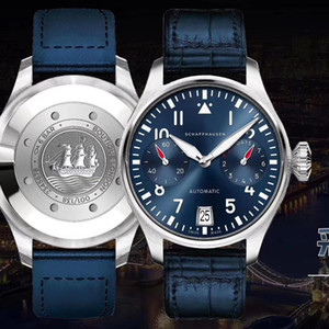 ZF New Air Overlord, Pilot series, copy Cal.51111 movement.Sapphire glass mirror, high quality 46MM designer watches .movement watches