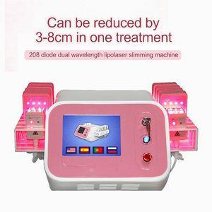 Mais novo Laser Lipo lipólise máquina da beleza Slimming Celulite Remoção Fat Burning Redução 980nm 980nm Diode Laser Shaping corpo