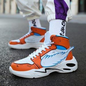 Skechers обувь для мужчин Кроссовки D'Lites платформы Повседневная обувь мужчин Обувь для ходьбы воздухопроницаемой сеткой кроссовки Мужская обувь