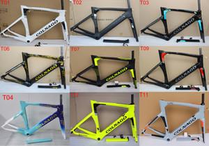 2020 Colnago telaio stradale concetto Bicyle Carbon Carbon Bike Frame Size XXS, XS, S, M, L, XL BB386 frame