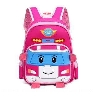 Kindergarten schoolbag children's pupils leisure travel boys bag backpack and girls small backpack Grade One