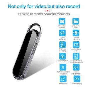 catena D8 chiave la mini macchina fotografica registratore vocale digitale Full HD 1080P portachiavi Mini DV Camcorder Digital Audio Video Recorder con 8GB 16GB