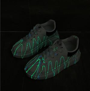 Luminous women's shoes 2020 clover luminous new women's shoes sports running shoes