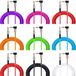 90 Degree Audio Cable Gold Plated aux cablex For Smart phone samsung htc mp3 speaker headphone