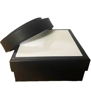 Correias das mulheres dos homens da correia das mulheres couro genuíno preto e branco a cores couro cinto para Mens Belt com caixa
