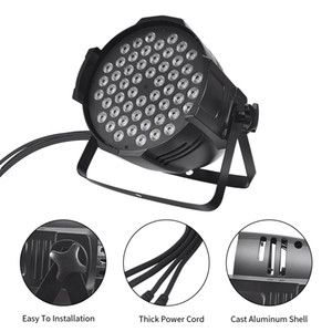 디스코 80W LED 무대 조명 85-265V 조명 램프 조명기구, 클럽, KTV, 바, 무대, 결혼식