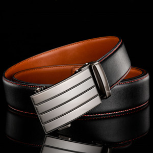 Plyesxale Designer Belts Men High Quality Cowskin Leather Belt Men Automatic Buckle Mens Belts Dropshipping G75