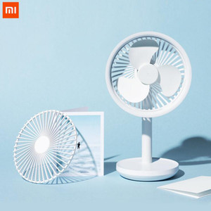 Xiaomiyoupin Solove Desktop Fan 4000mAh Battery Capacity USB Charging Low Noise Rechargeable 3 Mode Wind Speed Cooling Oscillating Fan