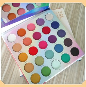 2019 New Eye Shadow Palette 25L Live In Color Eyeshadow Palette Make Life Colorful Palette Shimmer Matte Eyeshadow DHL free shipping