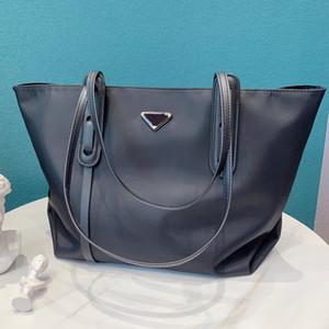 Saco Composite mulheres bolsas de lona Grande Capacidade Pacote Retro Nylon Lona Interior Zipper Shoulder Bag de alta qualidade sacos de compra Saco de mão