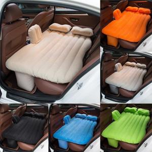 Çok fonksiyonlu Şişme Araba Yatakları Kamp Enflasyon Yatak Seyahat Hava Yatak Oto Arka Kol Açık Kamp Mat Yastık # YL1