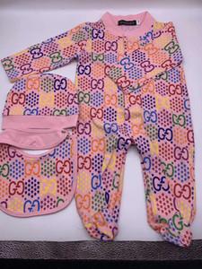Vêtements pour bébé Stripe bébé barboteuses Printemps Automne Nouveau Romper coton Nouveau-né Bébés filles garçon enfants Designer Cartoon Bee nourrisson combis