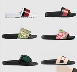 2019 Brand Slippers Quality Sandals Designer Shoes Slides Flip Flops Man Woman Loafers Huaraches Sneakers Trainers Running Shoes G29