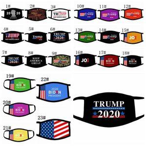 Yüz Maskeleri Trump Amerikan Seçim Malzemeleri koz Amerikan Seçim Amerikan Bayrağı ağız maskesi yüz maskeleri biden 2020 Joe maske LJJK2409