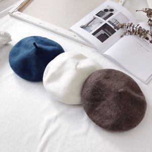fancbaby wool ins Wind Children's Pictorial cap Painter's hat beret male and female baby painter cap beret