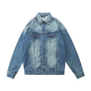 2020 New famous men's denim jacket, men's wear, women's wear, high quality casual jacket, black, blue, fashion men's wear jacket, size M-XXL