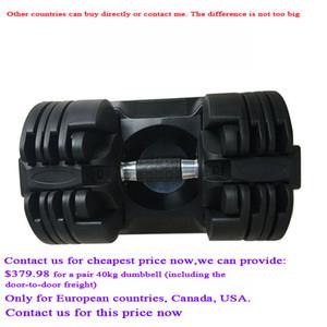 2020 Arrivée Réglable Dumbbell Set 20kg professionnel FAS T haltères automatiques équipements de remise en forme de haute qualité